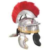 vidaXL romiešu bruņucepure, replika, sudraba krāsas tērauds