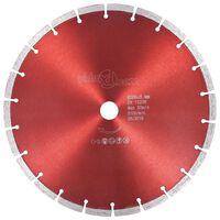 vidaXL dimanta griešanas disks, tērauds, 300 mm
