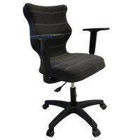 Entelo biroja krēsls UNI, antracītpelēks, BA-C-6-B-C-DC17-B