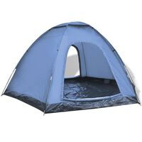 vidaXL telts 6 personām, zila