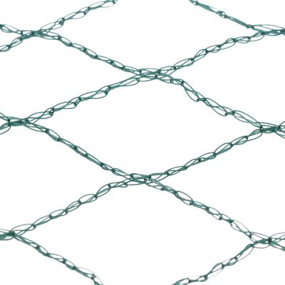 vidaXL dīķa pārsegs, tīkls, 6x8 m, polietilēns