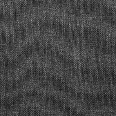 vidaXL virtuves krēsli, 2 gab., tumši pelēks audums