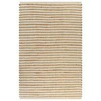 vidaXL paklājs, izgatavots ar rokām, džuta, 120x180 cm, dabīgs, balts