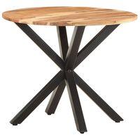 vidaXL galdiņš, 68x68x56 cm, akācijas masīvkoks