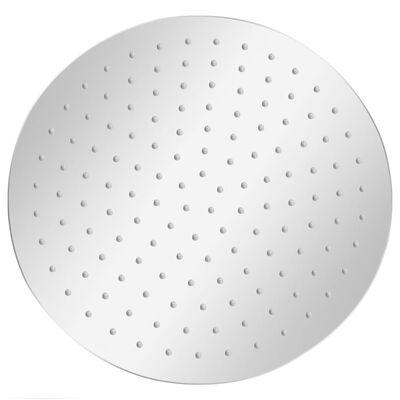 vidaXL lietus dušas galva, nerūsējošais tērauds 304, 30 cm, apaļa