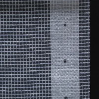 vidaXL brezenta pārklājs, smalki austs, 260 g/m² 3x20 m, balts