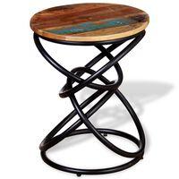 vidaXL dīvāna galdiņš, pārstrādāts koks