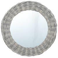 vidaXL spogulis, 80 cm, pīts