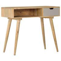 vidaXL konsoles galdiņš, 89x44x76 cm, mango masīvkoks