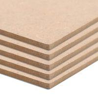 vidaXL MDF plāksnes, 20 gab., kvadrāta, 60x60 cm, 2,5 mm