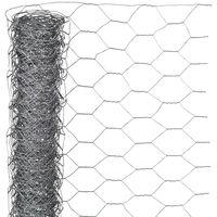 Nature sieta žogs, sešstūrains, 1x10 m, 40 mm, cinkots tērauds