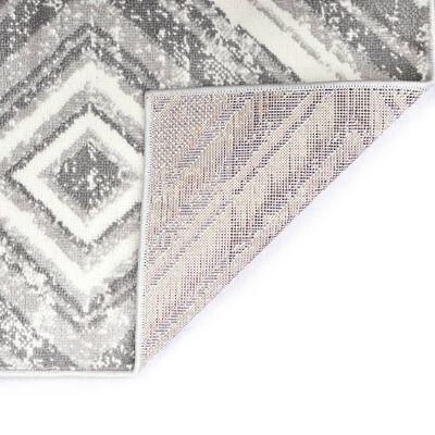 vidaXL paklājs, pelēks, 160x230 cm, PP
