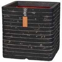 Capi puķu kaste Nature Row, kvadrāta, 30x30 cm, pelēka, KRWZ902
