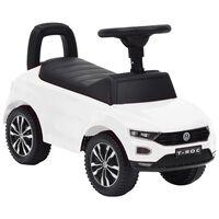 vidaXL stumjams rotaļu auto, Volkswagen T-Roc, balts