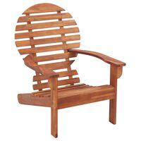 vidaXL Andirondaka krēsls, akācijas masīvkoks