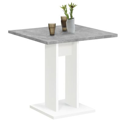 FMD virtuves galds, 70 cm, betona pelēka un balta krāsa
