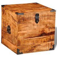 vidaXL mantu kaste, kuba forma, mango koks