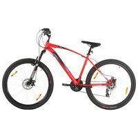 vidaXL kalnu velosipēds, 21 ātrums, 29'', 48 cm rāmis, sarkans