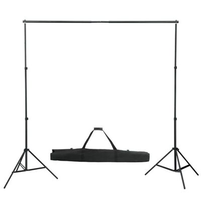 vidaXL fonu balsta sistēma, balts fons, 600x300 cm
