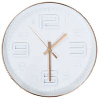 vidaXL sienas pulkstenis, vara izskats, 30 cm