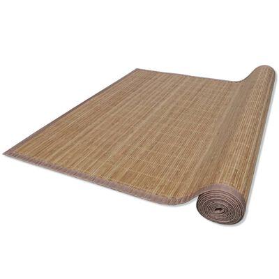Bambusa Paklājs 120 x 180 cm Brūns
