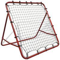Regulējama atsitiena treniņa siena futbolam 100 x 100 cm