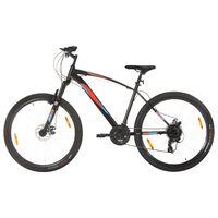 vidaXL kalnu velosipēds, 21 ātrums, 29'', 48 cm rāmis, melns