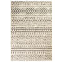 vidaXL paklājs, 80x150 cm, moderns, tradicionāls raksts, bēšs, pelēks