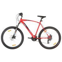 vidaXL kalnu velosipēds, 21 ātrums, 29'', 53 cm rāmis, sarkans