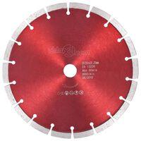 vidaXL dimanta griešanas disks, tērauds, 230 mm