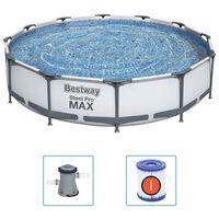 Bestway Steel Pro MAX peldbaseina komplekts, 366x76 cm