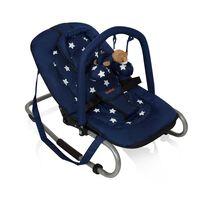 """Baninni bērnu šūpuļkrēsls ''Relax Classic"""", zils ar zvaigznītēm"""