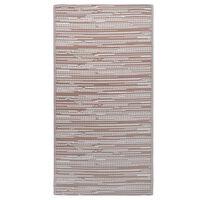 vidaXL āra paklājs, 120x180 cm, brūns PP