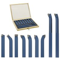 vidaXL 11-daļīgs griežņu komplekts, karbīds, 12x12 mm, P30