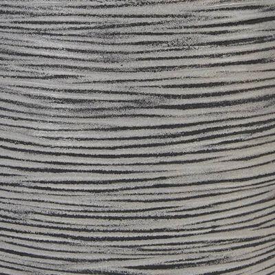 Capi vāze Nature Rib, cilindriska forma, 46x58 cm, pelēka, KOFZ783