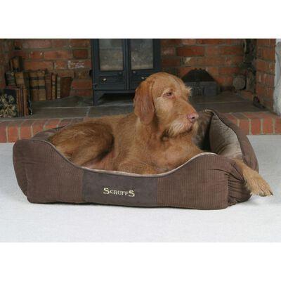 Scruffs & Tramps mājdzīvnieku gulta Chester, 60x50 cm, M izmērs, brūna