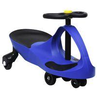 vidaXL bērnu braucamrīks ar tauri, zila