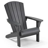 Keter Andirondaka krēsls Troy, grafītpelēks