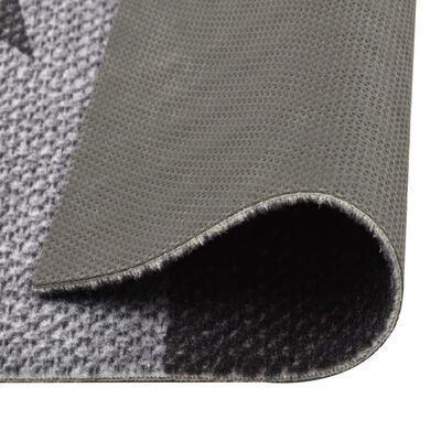 vidaXL virtuves paklājs, mazgājams, apdruka ar zvaigznēm, 45x150 cm
