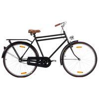 """vidaXL vīriešu velosipēds, holandiešu stils, 28"""", 57 cm rāmis"""
