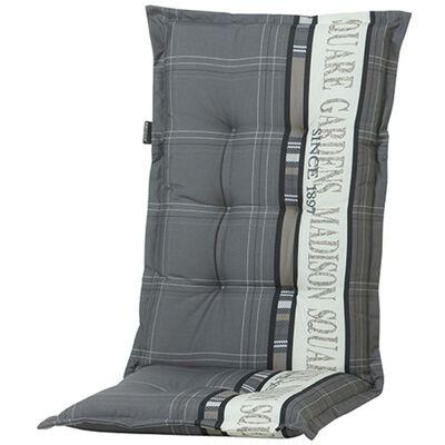 Madison atzveltnes krēsla spilvens Garden, pelēks, 123x50 cm, PHOSA056