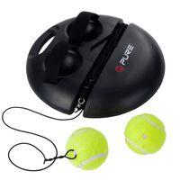 Pure2Improve tenisa treniņu ierīce, melna, P2I100180