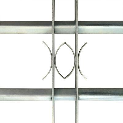 Regulējama logu drošības reste ar 2 stieņiem, 1000 - 1500 mm