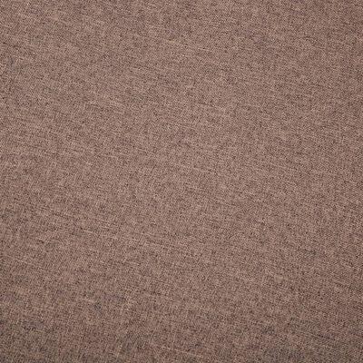 vidaXL dīvāns, trīsvietīgs, 172x70x82 cm, brūna auduma apdare