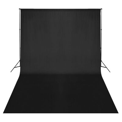 vidaXL fotostudijas komplekts – lampas, fons, reflektori
