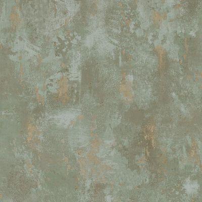 DUTCH WALLCOVERINGS tapete, betona apdruka, zaļa, TP1010