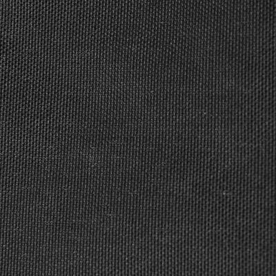 vidaXL saulessargs, 3,6x3,6 m, kvadrāta forma, antracītpelēks audums