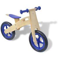 vidaXL zils līdzsvara velosipēds