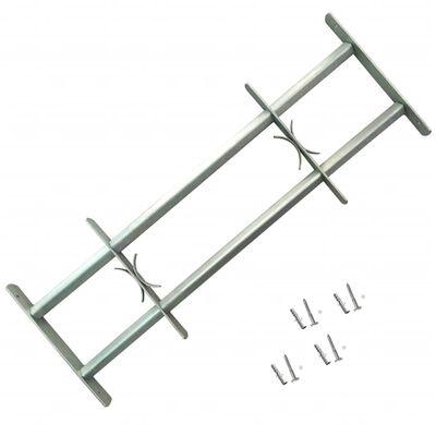 Logu drošības reste ar 2 stieņiem, regulējama, 500-650 mm
