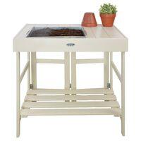 Esschert Design galds augu stādīšanai, balts